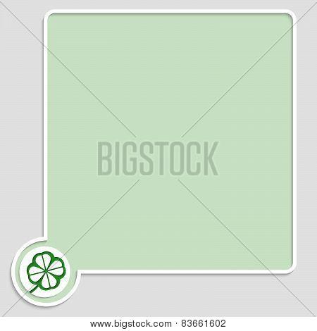 Vector Green Text Box