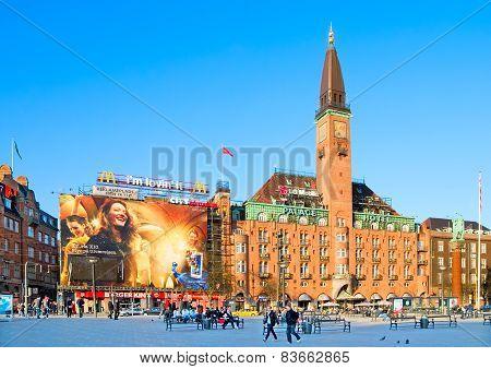 Denmark. Copenhagen. Scandic Palace Hotel
