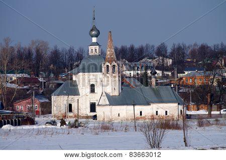Winter Day In Suzdal, Russia