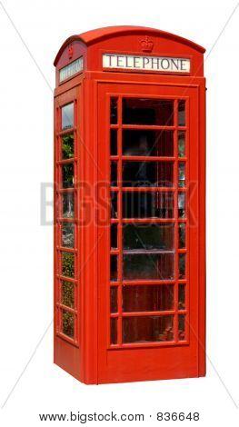 Neat telephone box
