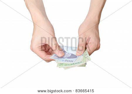 Counting Korean Bills