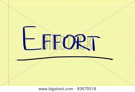 Effort Concept