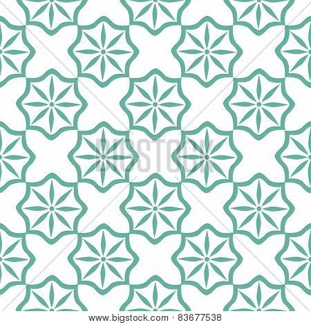 Seamless Tiling Pattern Moroccan Style