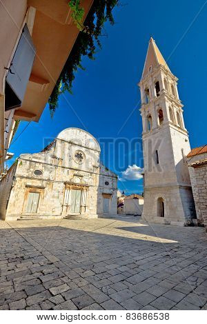 Stari Grad On Hvar Island Square