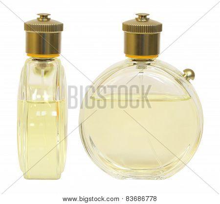 Studio photography of perfume bottle