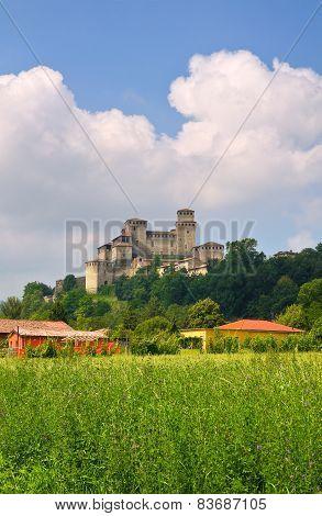 Castel of Torrechiara. Emilia-Romagna. Italy.