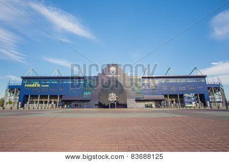 New I-mobile Stadium In Buriram, Thailand.