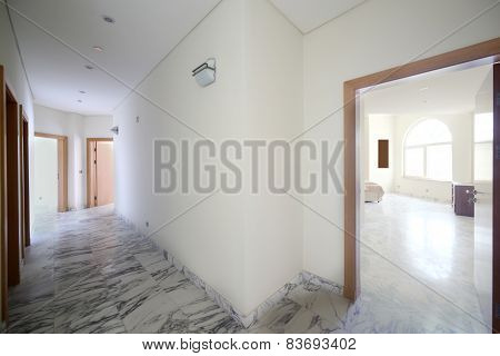 Interior Of Bright Hallway Home