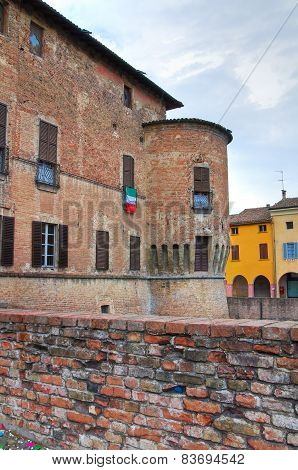 Castle of Fontanellato. Emilia-Romagna. Italy.