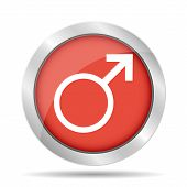 picture of sexing  - Male sign icon - JPG