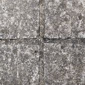 foto of paving stone  - Stone tile floor paving fragment as an abstract background composition - JPG