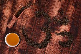 stock photo of ohm  - Traditional tea drinking - JPG