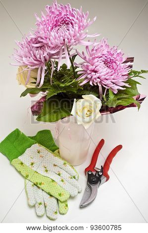 Flower Shop Arrangement