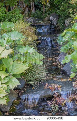 Mini-waterfalls
