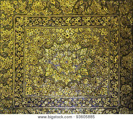 Golden Thai Art Style