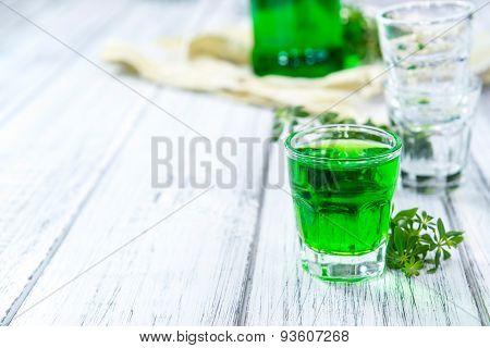 Woodruff Liqueur Shot