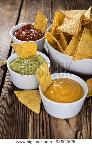 Three Different Nacho Dips