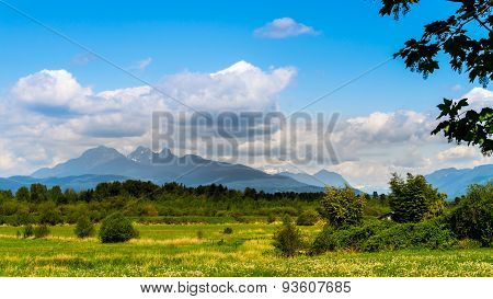 Golden Ears mountain in BC