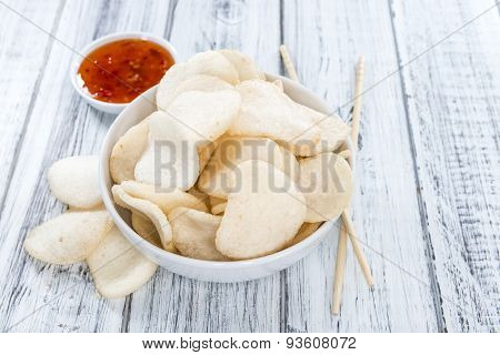 Prawn Crackers (krupuk)