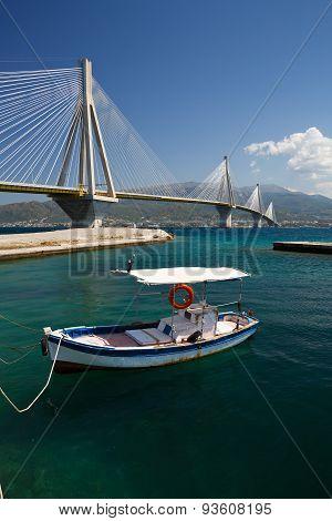 Rio Antirrio bridge.