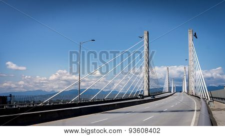Golden Ears Bridge Looking North