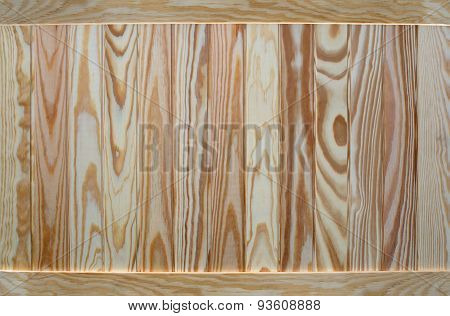 Empty wooden background