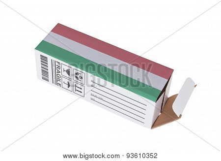 Concept Of Export - Product Of Hungary