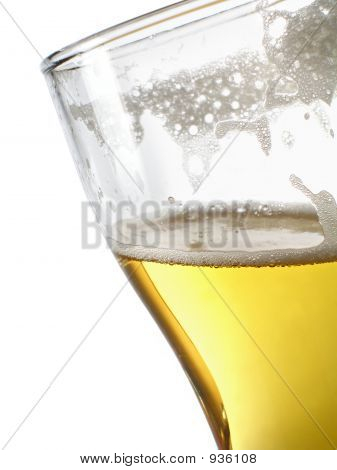 Beer Within Mug Close-Up