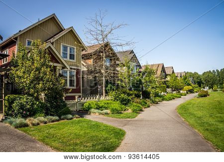 Suburbia in Fort Langley