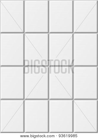 Ceramic tiles.