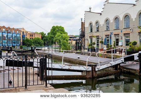 Camden Lock. Regents Canal, London, England