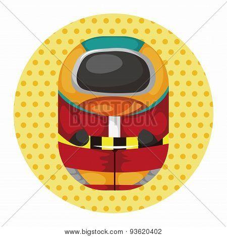 Spaceman Theme Elements