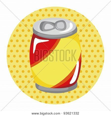 Soda Drink Theme Elements