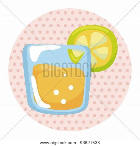 Juice Drink Theme Elements