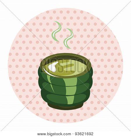 Hot Tea Drink Theme Elements