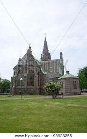 Falkenberg church neo-Gothic style