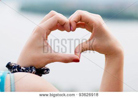 Heart Shape Of Hands