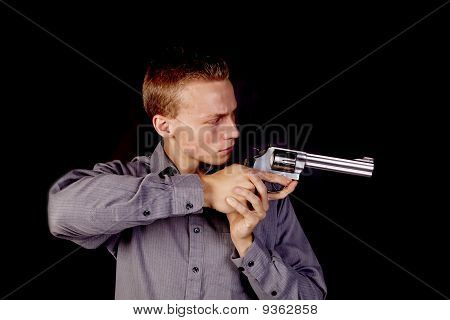 Pointing Pistol