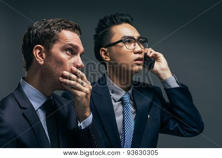 Anxious Financial Brokers