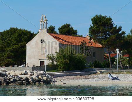 The Krijal church on Premuda in Croatia