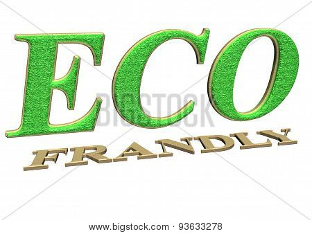 Three-dimensional inscription ECO frendly
