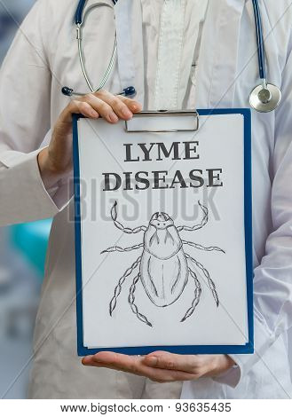 Doctor Warning Against Lyme Disease Caused By Ticks