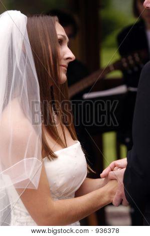 Wedding Bride Getting Married