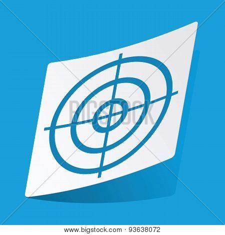 Aim sticker
