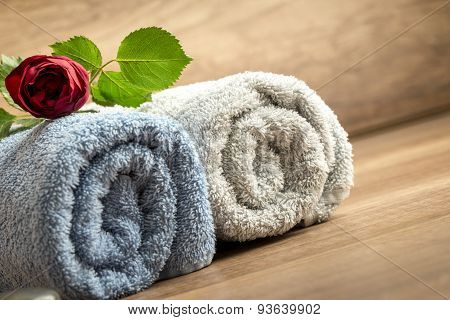 Romantic Spa Still Life Concept