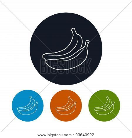 Icon  Banana In The Contours