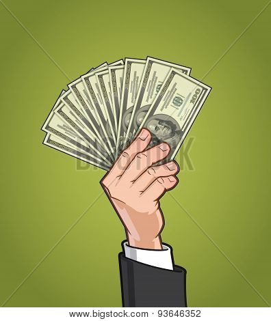 Hands Showing Money 1