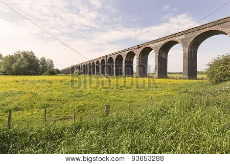 Harringworth Railway Viaduct.
