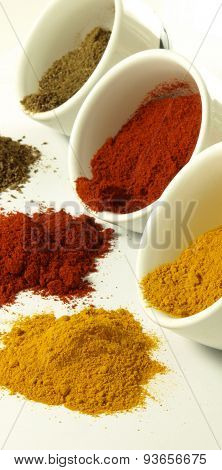 Colorful Indian Spices