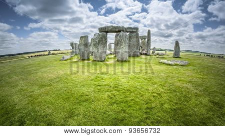 An image of the Stonehenge in England